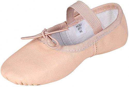 bőr balettcipő