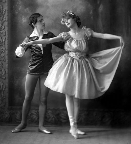A balettcipő története